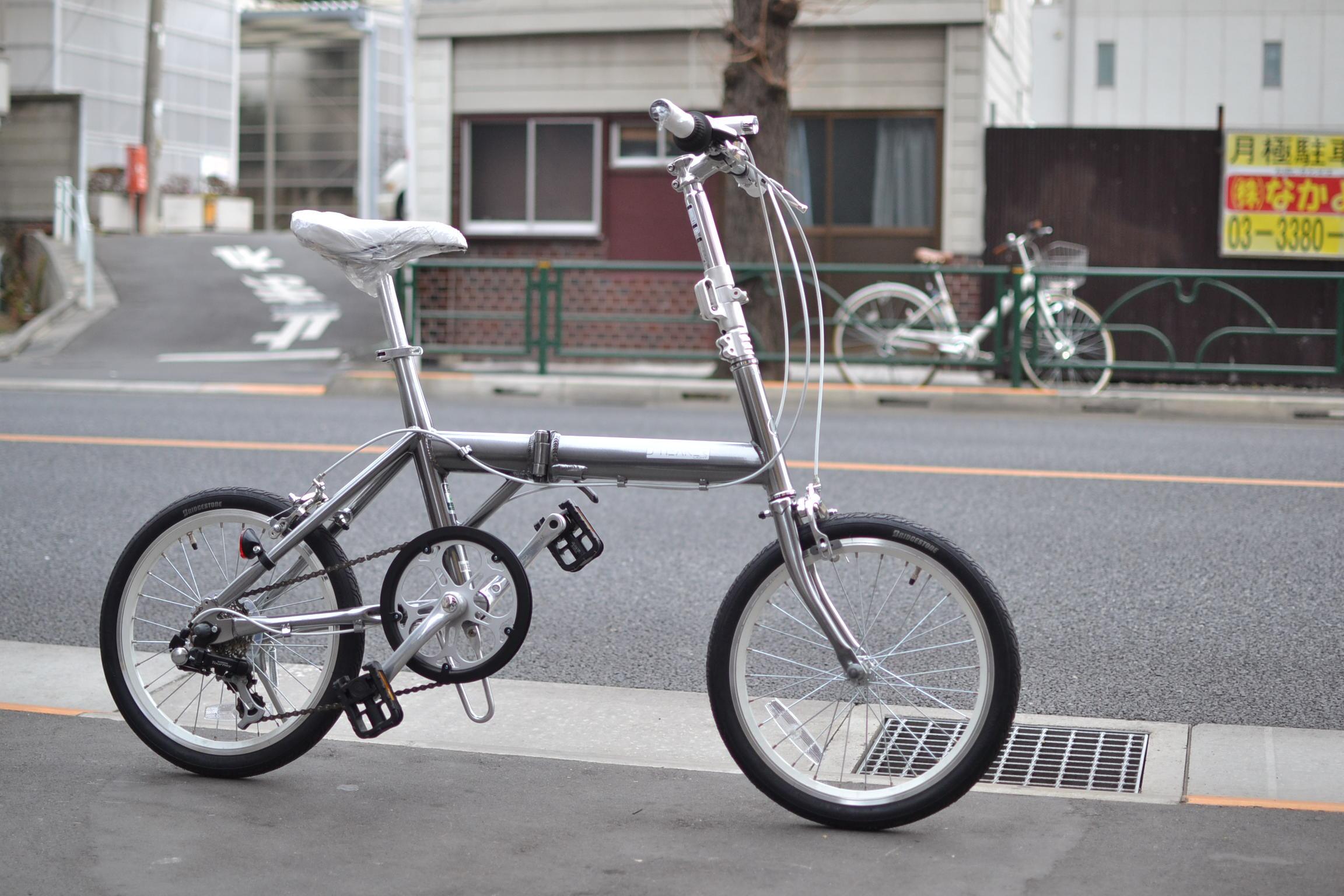 自転車の キッズ 自転車 おすすめ : 11.5Kgの軽量折りたたみ自転車。