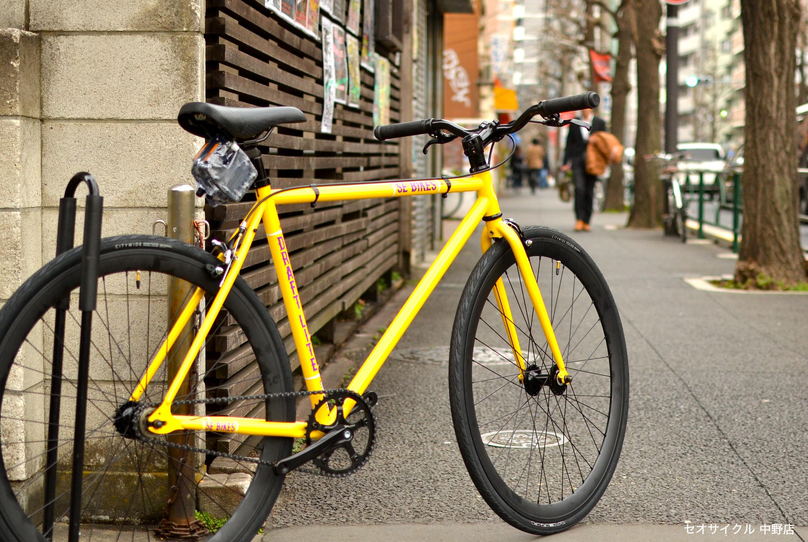 自転車の 自転車 固定ギア フリーギア : SE BIKES / DRAFT LITE (2015) | SE BIKES ...